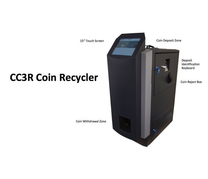 CC3R Coin Recycler Map