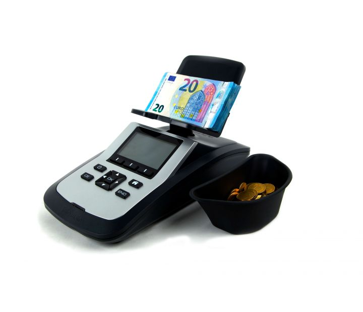 Tellermate Tix-1000 Note and Coin Weigher Cash
